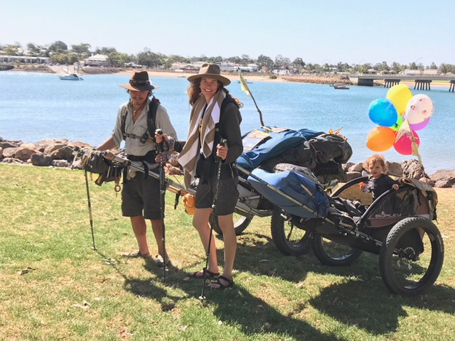 The Jonesys in Port Augusta after 1600kms #1
